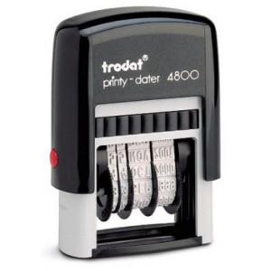 TRODAT 4800 DATER MA PRINTY