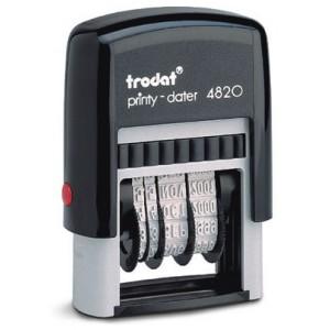 TRODAT 4820 DATER MA PRINTY