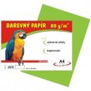 Barevný papír 80g/m2, zelený