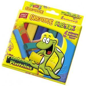 Plastelína EASY CREATIVE- 6 barev