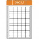 Etikety na archu A4-38x21,2
