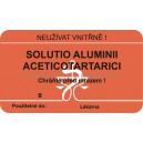 SLE 65x38 sol. alum. acet.  I/30