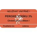 SLE 50x25 peroxid vodíku  I/31