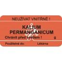SLE 50x25 kalium permanganicum  I/34