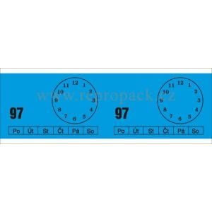 Recepturní čísla-bločky 50x150 mm